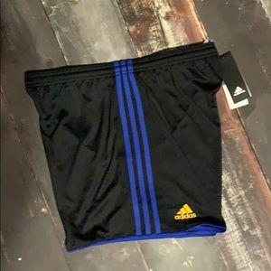 NWT Adidas soccer shorts climacool Large